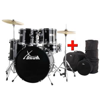 xdrum semi batterie 22 rouge set conomique sacs timbale en bois de peuplier de haute qualit. Black Bedroom Furniture Sets. Home Design Ideas