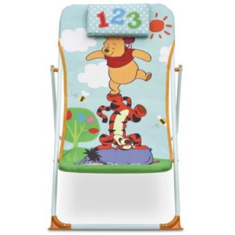 Winnie l 39 ourson chaise de plage delta children achat - Rehausseur de chaise winnie l ourson ...