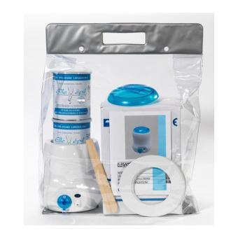 kit epilation chauffe pots cire azur sans bandes ellepi achat prix fnac. Black Bedroom Furniture Sets. Home Design Ideas