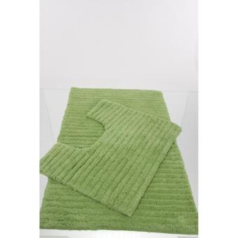 tapis de salle de bain et contour wc 40 x 50 cm vert achat prix fnac. Black Bedroom Furniture Sets. Home Design Ideas