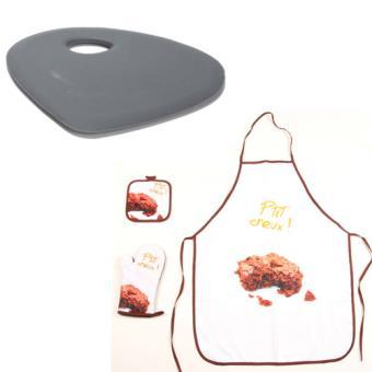 ensemble patissier brownies et corne de patissier grise achat prix fnac. Black Bedroom Furniture Sets. Home Design Ideas