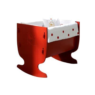 Mini berceau à bascule Davis Rouge pour 240€