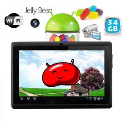 La tablette tactile Android 4.1 est un véritable mini ordinateur de poche portable ! Vous pourrez vous divertir facilement en n´importe quelles circonstances car en plus d´être compact cette tablette tactile dispose d´une bonne autonomie et de centaines d
