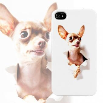 Coque chihuahua pour iphone 4 et 4S Fnac.com