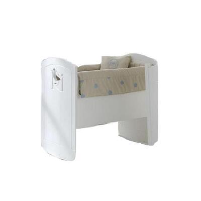 Mini berceau à bascule Aries Blanc pour 270€