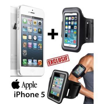 et Accessoire Apple iPhone 5 16 Giga Reconditionné + BRASSARD