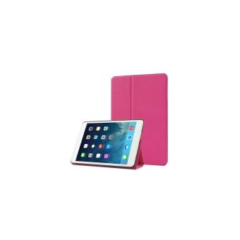 ipad air coque housse cuir pu magenta achat prix fnac. Black Bedroom Furniture Sets. Home Design Ideas