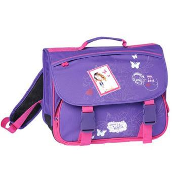 disney violetta cartable scolaire 41 cm violet top prix fnac. Black Bedroom Furniture Sets. Home Design Ideas