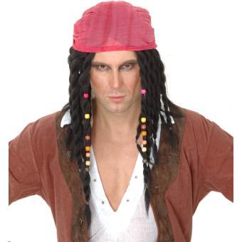 votre Perruque pirate homme taille unique