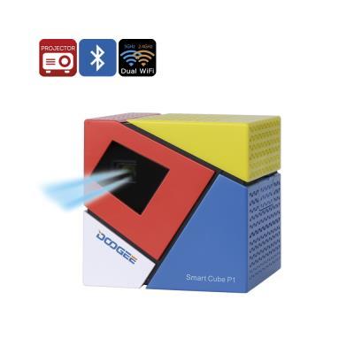 Principales caractéristiques... Un projecteur compact et coloré, il est facile de partager des films et du contenu sur l´aller Profitez d´une taille d´image de 120 pouces au format 16: 9 rapport d´aspect qui est parfait pour les jeux et films RK3128 CPU,