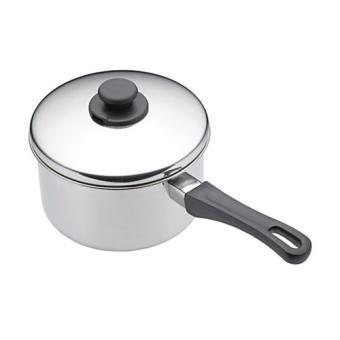 kitchen craft grande casserole avec couvercle acier inoxydable 14cm achat prix fnac. Black Bedroom Furniture Sets. Home Design Ideas