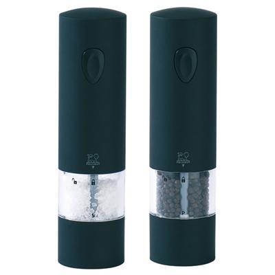Image du produit Peugeot ensemble moulin électrique sel et poivre 20cm noir 24581 + 24598 onyx