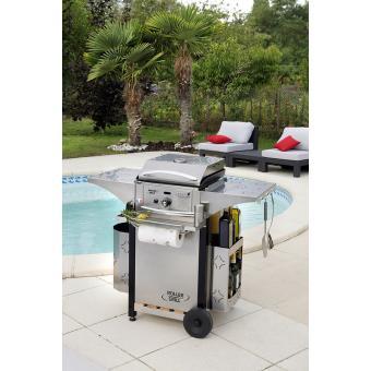 Kit cuisine exterieure 400 gaz achat prix fnac for Cuisine exterieure kitaway