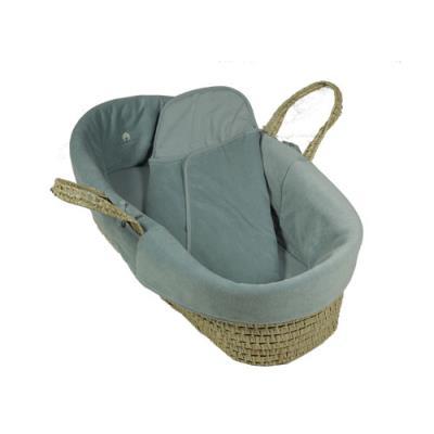 Couffin en osier et coton biologique Aqua pour 143€