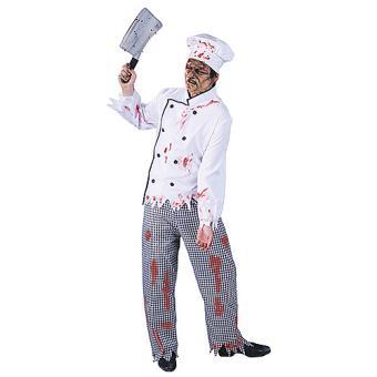 Deguisement cuisinier zombie achat prix fnac for Cuisinier 71
