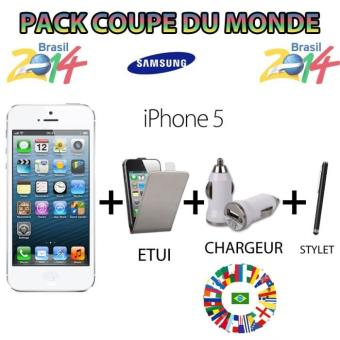 Pack Téléphone mobile et Accessoire Apple iPhone 5 16 Giga