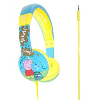 peppa pig pp0165 casque audio pour enfant motif bottes de pluies jaune achat prix fnac. Black Bedroom Furniture Sets. Home Design Ideas