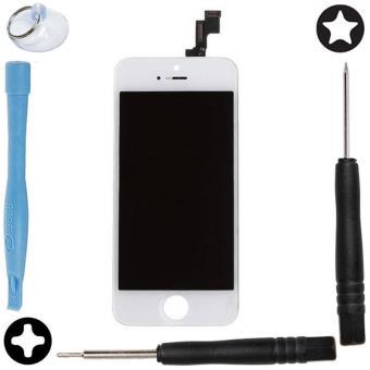 vitre tactile blanc ecran lcd r tina assembl s ch ssis pour iphone 5s outils achat prix. Black Bedroom Furniture Sets. Home Design Ideas