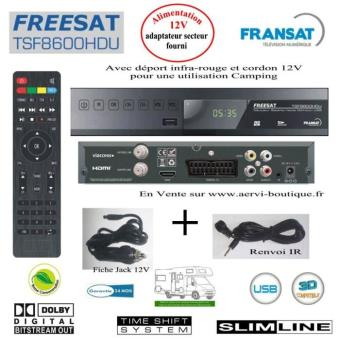 D codeur tnt hd r cepteur satellite fransat freesat - Prix d un decodeur tnt hd ...