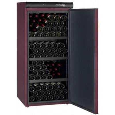 Cave à vin Mono-Température de 12°C (± 2 °C ajustable) de vieillissement de grande capacité. Cette version équipée d´une porte pleine, garantit le maintien de vos vins dans une obscurité totale. Elle permet de les faire vieillir dans des conditions optima