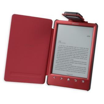 la housse etui gecko covers rouge pour la sony prs t3 e. Black Bedroom Furniture Sets. Home Design Ideas
