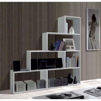 klum etagere escalier blanc brillant 145x145cm achat. Black Bedroom Furniture Sets. Home Design Ideas