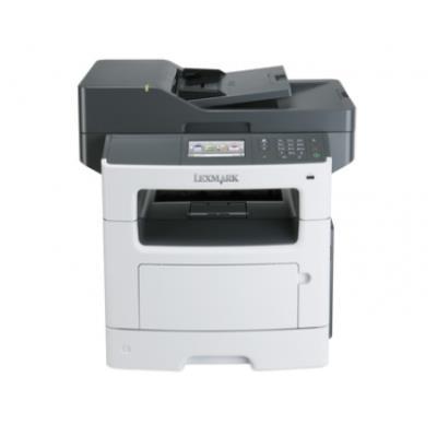 L´IMF Lexmark MX510de avec fonctions d´impression, de copie, de numérisation et d´email imprime jusqu´à 42 ppm. Elle offre d´origine l´impression recto verso et une alimentation standard de 350 feuilles.