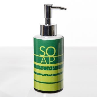 distributeur de savon pep 39 s c ramique vert achat prix fnac. Black Bedroom Furniture Sets. Home Design Ideas