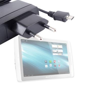 chargeur secteur pour tablette archos 101 xs 101 g9 10 1 achat prix fnac. Black Bedroom Furniture Sets. Home Design Ideas