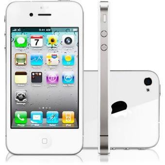 t l phone mobile apple iphone 4 16go blanc achat prix. Black Bedroom Furniture Sets. Home Design Ideas