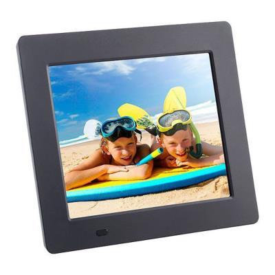Cadre photo numérique 7 pouces LED multimédia extra fin avec une résolution de 800 x 480. Sa fonction multimédia vous permet de lire des photos numérique (jpeg) de la musique (mp3) et des même des vidéos au format AVI. Affichage diaporama automatique cart