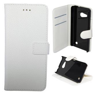 Etui housse coque portefeuille nokia lumia 550 blanc for Housse lumia 550
