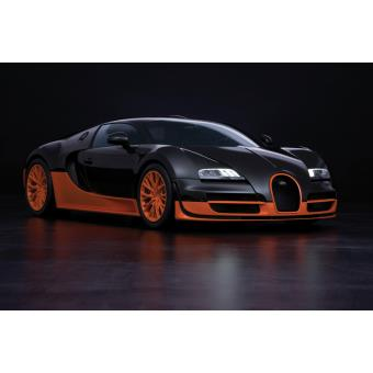 affiche poster voiture bugatti veyron 16 4 super sport dimensions 60x90cm top prix fnac. Black Bedroom Furniture Sets. Home Design Ideas