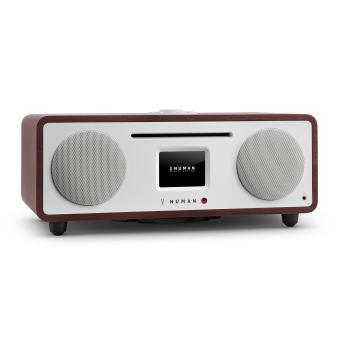 numan two 2 1 radio internet design lecteur cd usb bluetooth spotify dab achat prix fnac. Black Bedroom Furniture Sets. Home Design Ideas