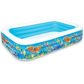 bestway piscine gonflable bassin rectangulaire pour. Black Bedroom Furniture Sets. Home Design Ideas