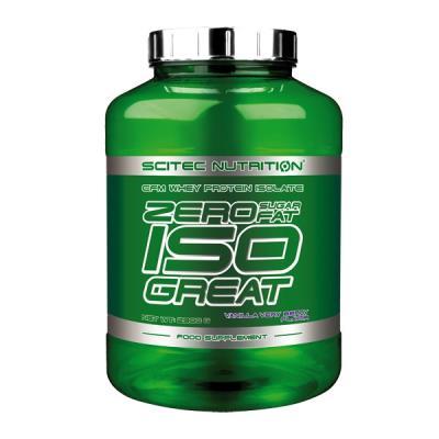 Zero Isogreat Whey Proteine Scitec - Fraise - 900 pour 35€
