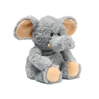 doudous soframar peluche bouillotte micro ondes eléphant doudou