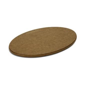 topgourmet serving series planche à fromage ovale en bois compressé