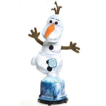 Reine des neiges olaf peluche tournante parlant - Reine des neiges en anglais ...
