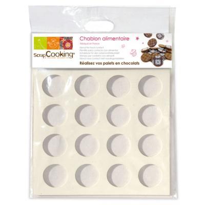 Image du produit Chablon à chocolat, Scrapcooking