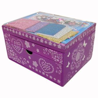 Mosaic sparkling jewellery box boite bijoux d corer - Boite a bijoux a decorer ...