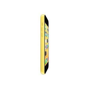 apple iphone 5c jaune 4g lte 32 go gsm. Black Bedroom Furniture Sets. Home Design Ideas