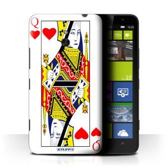Nokia Lumia 1320 / Rois de C?ur Design / Cartes à Jouer Collection