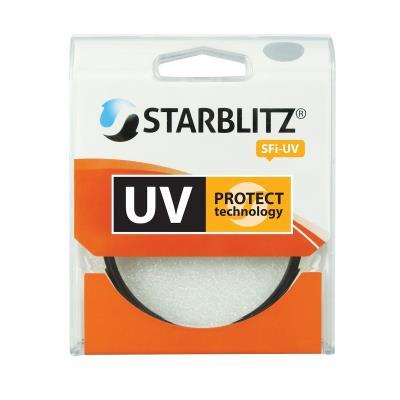 Le filtre Starblitz 52 mm absorbe les rayons ultra violets UVB et UVC. Il est recommandé pour la protection des objectifs et peut être porté en permanence pour les prises de vue en extérieur. Il permet dobtenir des images mieux contrastées avec davantage