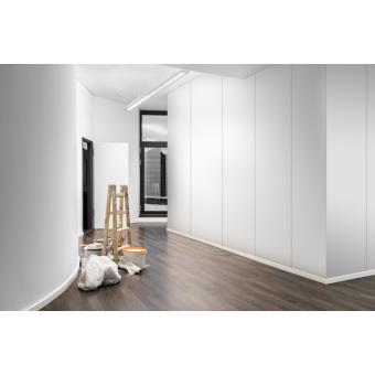 plaque de pl tre placo d corative ikebana blanche. Black Bedroom Furniture Sets. Home Design Ideas