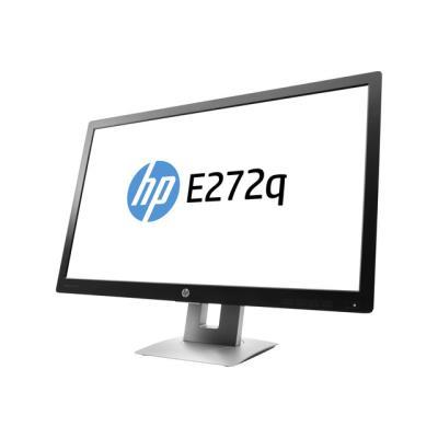 Exécutez plusieurs tâches à votre guise en qualité Quad HD avec le moniteur QHD HP E272q de 68,6 cm (27 pouces) qui offre également des fonctions TCO Certified Edge pour travailler confortablement toute la journée.