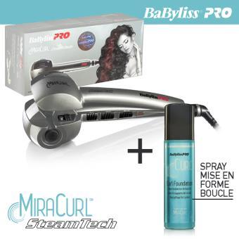 Babyliss pro Fer à boucler Miracurl steamtech BAB2665SE vapeur the