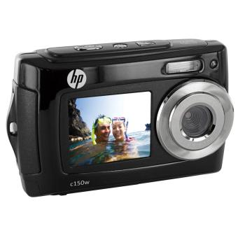 Appareil photo num rique hp c 150w tanche double cran for Ecran numerique photo