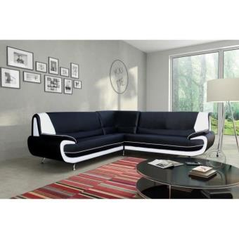 spacio canap d 39 angle droit simili 5 places achat prix fnac. Black Bedroom Furniture Sets. Home Design Ideas