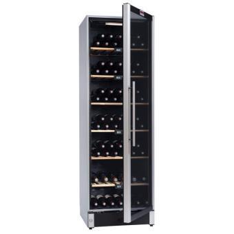 cave vin de service multi temp ratures temp 195 bouteilles laqu e couleur inox la. Black Bedroom Furniture Sets. Home Design Ideas